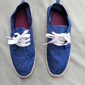 H&M navy shoes 10